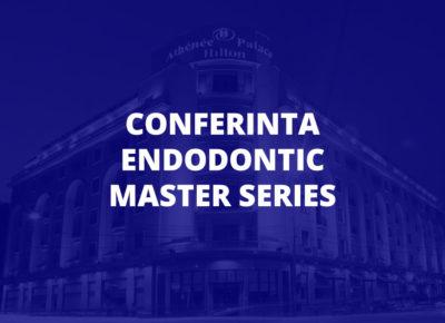Conferinta Endodontic Master Series – Editia 2021